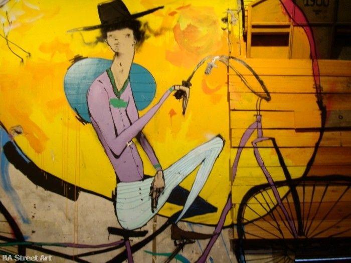 Mart artist interview bici buenos aires street art graffiti buenosairesstreetart.com