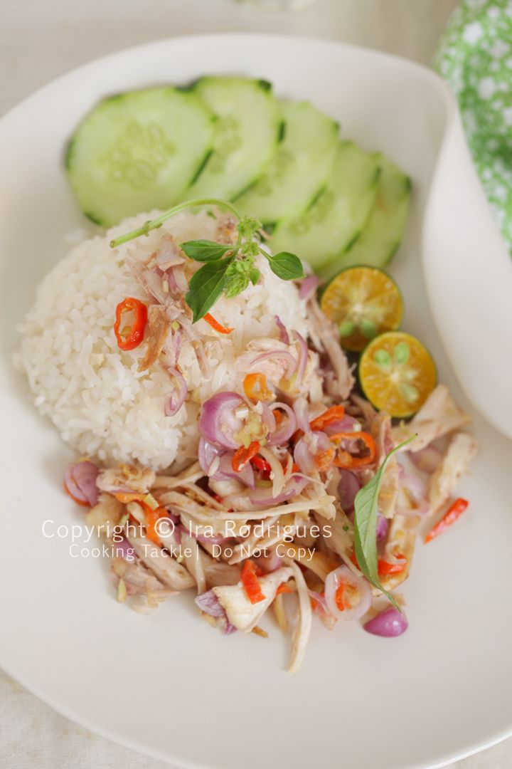 Sambal Matah Ayam (Balinese Chicken and Shallots).