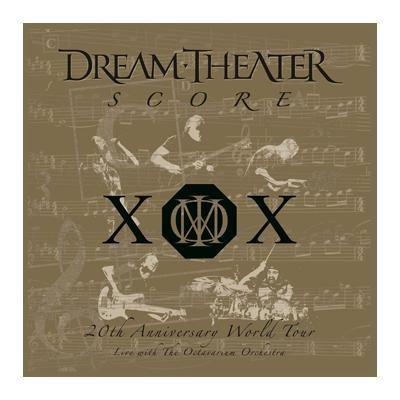 """L'album dei #DreamTheater intitolato """"Score: 20th Anniversary World Tour"""" su vinile."""