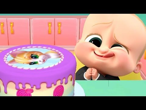 Baby Boss Learn To Cook Real Cake Maker 3D - Cooking Kids Games - Play Fun Kitchen Games For Kids - YouTube