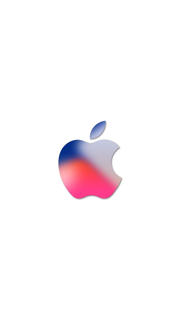 iPhone 11 Wallpaper Apple Logo White 4K HD Download Free ...