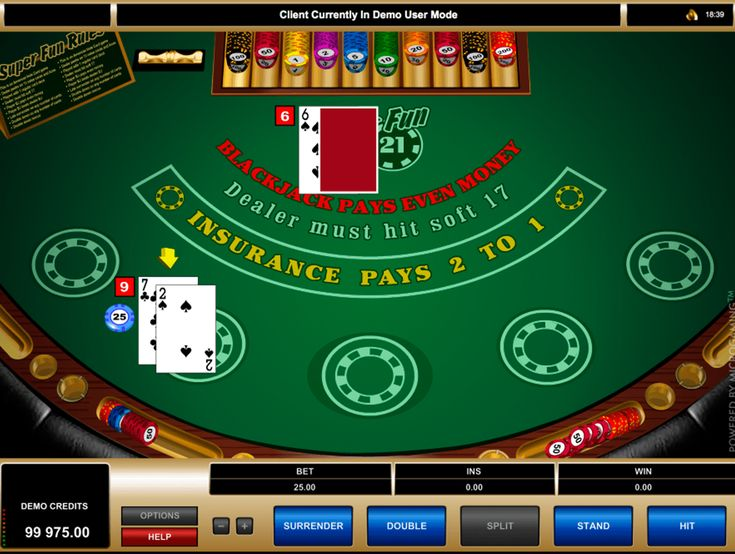 """Essayez le jeu captivant Super Fun 21 Blackjack de Microgaming qui est fourni des graphismes de la meilleure qualité et de l'interface amusant. Si vous savez des règles de base du blackjack, l'utilisation de cet appareil ne sera pas un problème, sinon l'option """"Help"""" aidera à comprendre les nuances du jeu. Jouez en mode démo ou pour de l'argent réel!"""