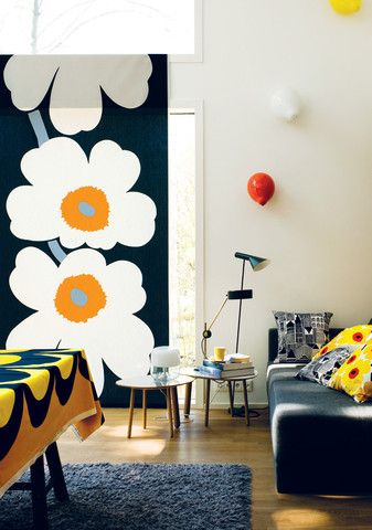 Giant. Unikko. Madness. (marimekko - Unikko 50th Anniversary Fabric)