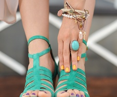 mintShoes, Summer Sho, Fashion, Style, Colors, Teal, Nails Polish, Wedges, Heels