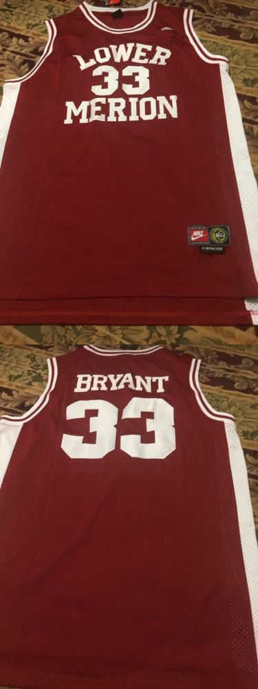 2c9244a5a ... Lower Basketball-Other 205 Kobe Bryant High School Jersey - BUY IT NOW  ONLY ...