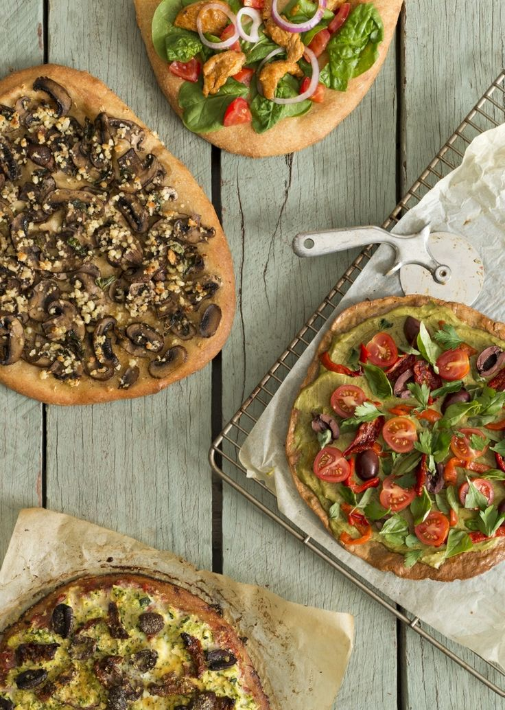 Dairy free pizzas #quirkycooking #quirkycookbook #thermomix
