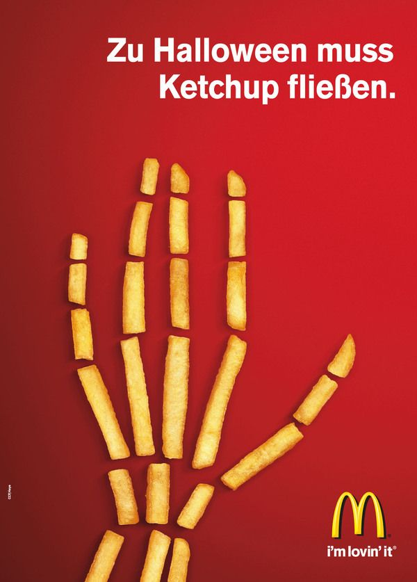 McDonald's wishes you a happy Halloween in German. And it's one badass ad.