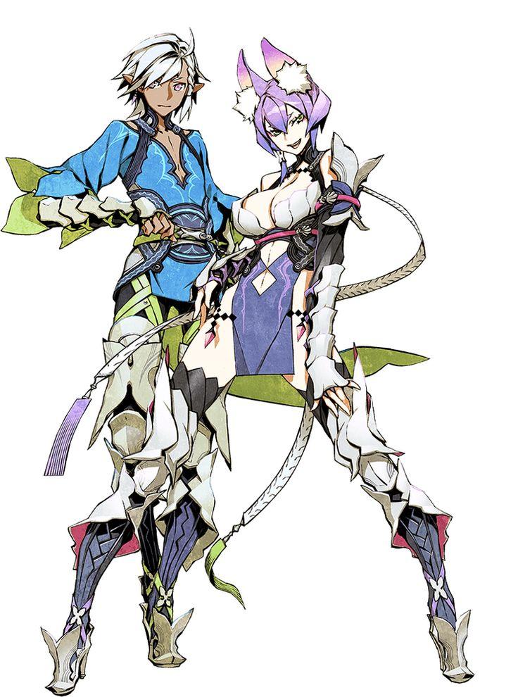 Rune Knight My Anime Shelf キャラクターデザイン, キャラクターの