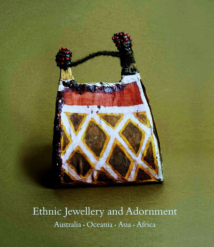 Cover of Truus Daalder's book *Ethnic Jewellery and Adornment*. Several images from it
