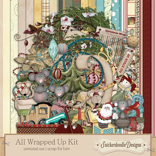 All Wrapped Up Kit #SnickerdoodleDesigns - Perfect to ...