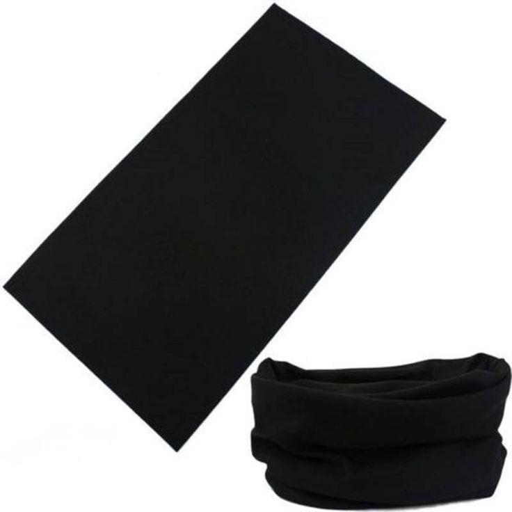 Scarf Riding Bicycle Motorcycle Bandanas Variety Black Turban Hood Magic Headband Veil Head Scarves Multi Function Ski Sport