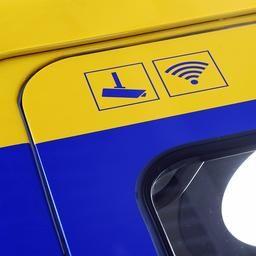 Treinreizigers verbruiken per maand 42 terabyte via gratis wifi