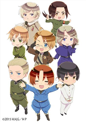 Hetalia The Twinkle World! Out this summer!!!!☺