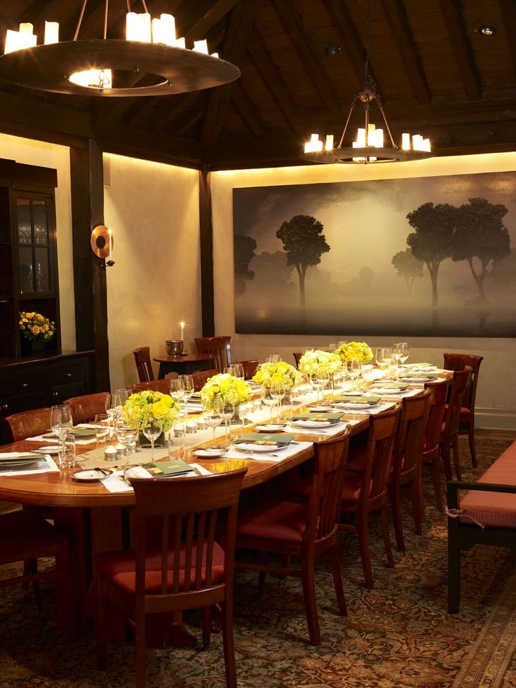 GRAMERY TAVERN The Private Dining Room Accommodates 22 People Maximum Three To Five Courses