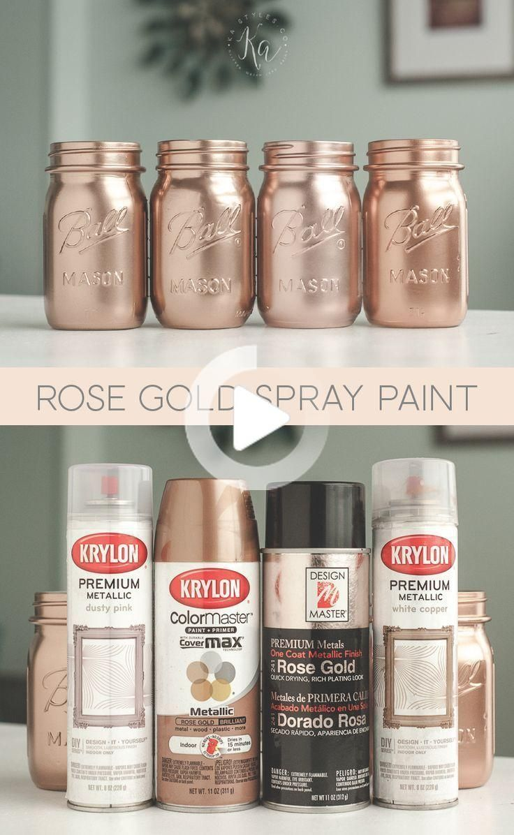 Rose Gold Spray Paint Colori Rosegold Rosegoldwedding Rosegoldpaint Colorsrosego Decor In 2020 Spray Paint Rose Gold Rose Gold Decor Spray Paint Colors