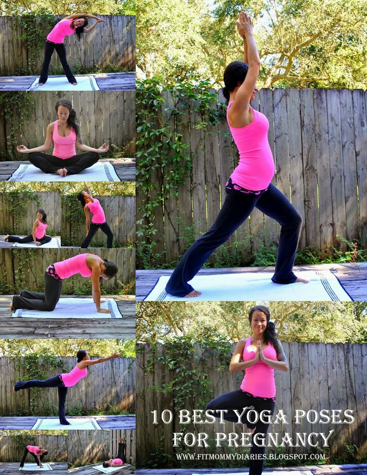 Diary of a Fit Mommy: Best Pregnancy Yoga Poses