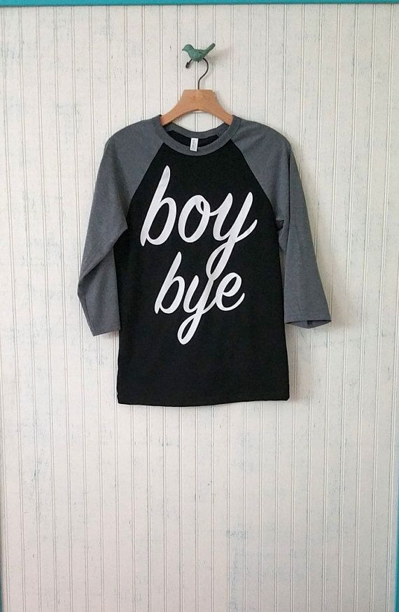 Jongen Bye Unisex honkbal Raglan T-Shirt door ACaseOfTheSundays