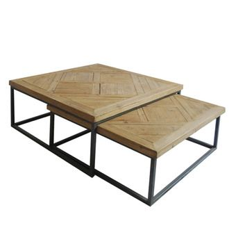 1000 ideas about table basse carr e on pinterest - Delamaison table basse ...