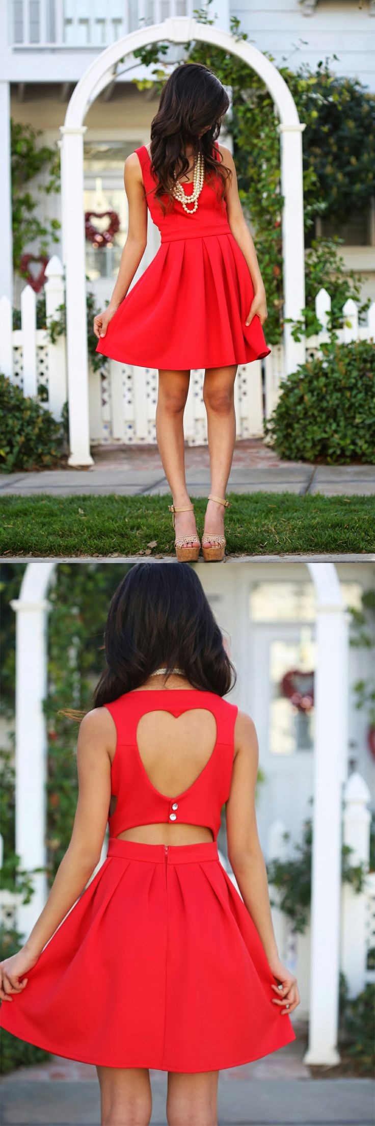We're totally in LOVE with blogger sweetheart Elaine's V-Day #ootd featuring a Charlotte Russe skater dress. See more of her outfit on her blog: Romantic Fawn and shop the dress at Charlotte Russe! http://www.charlotterusse.com/catalog/thumbnail.jsp?pageName=NewArrivals&subCategoryId=3021
