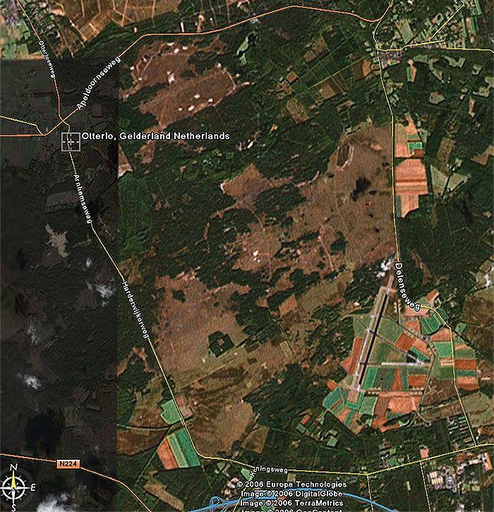 Map 42 best Hoge Veluwe The Netherlands