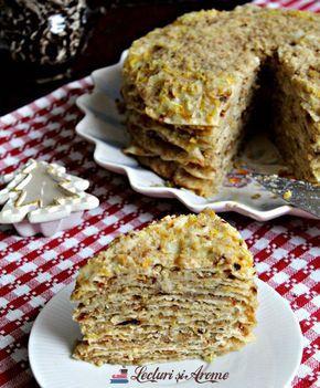 Scutecele Domnului (Julfă) - desert tradițional în Ajun de Crăciun. Rețeta de julfă. Varianta modernă, fără cânepă de turte de Crăciun. Rețeta cu nucă.