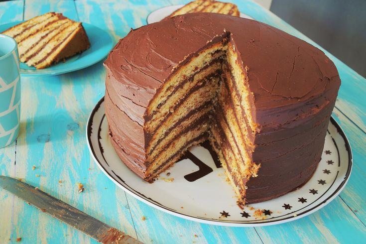 Óriási csokitorta