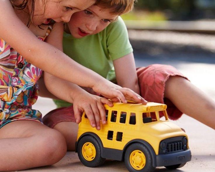 Amazon: Green Toys School Bus $11.02 {reg. $19.60}