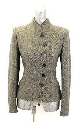 Negro De Mujer tan RALPH LAUREN Tweed montando chaqueta Asimétrica Lana M 8 | Ropa, calzado y accesorios, Ropa para mujer, Trajes y blazers | eBay!