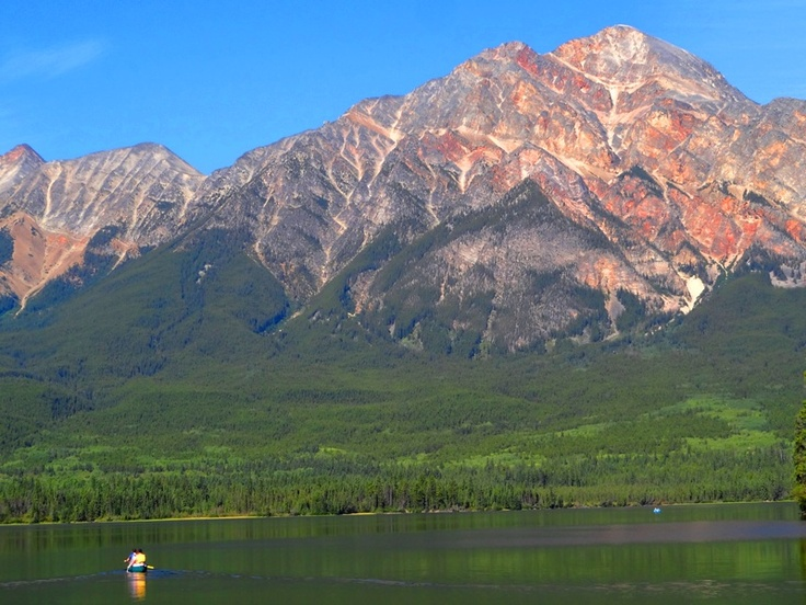 Jasper National Park, Pyramid Lake and Pyramid Mountain