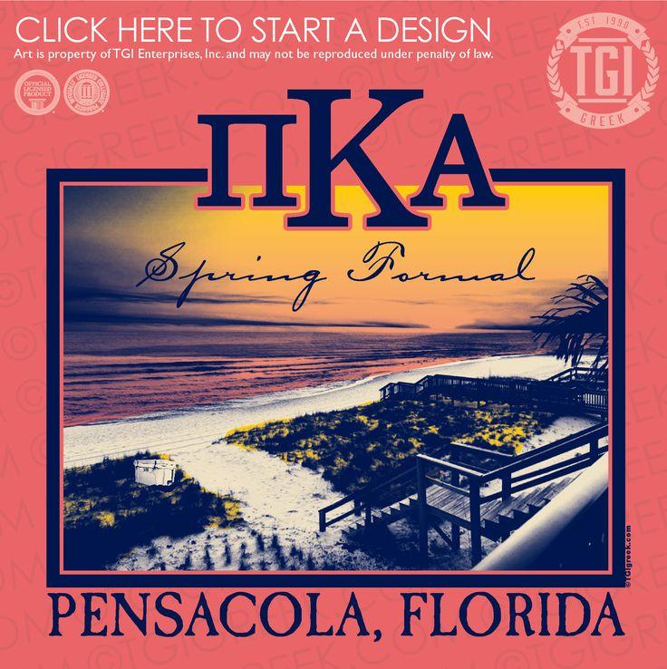 Pi Kappa Alpha | ΠKA | Pike | Spring Formal | Pensacola Florida Formal | Formal Shirt | TGI Greek | Greek Apparel | Custom Apparel | Fraternity Tee Shirts | Fraternity T-shirts | Custom T-Shirts