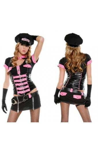 I would be a cop if I could wear this to work.