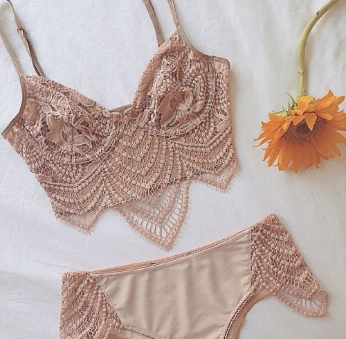 For Love and Lemons The Snapdragon Bra And Cheeky Panty