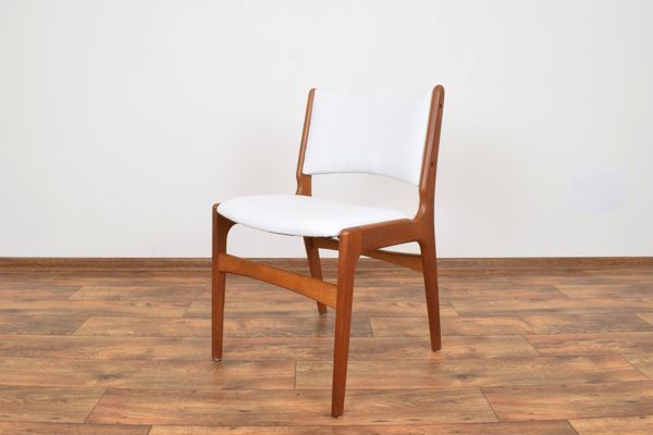 Mid Century Danish Model 89 Chairs By Erik Buch For Anderstrup