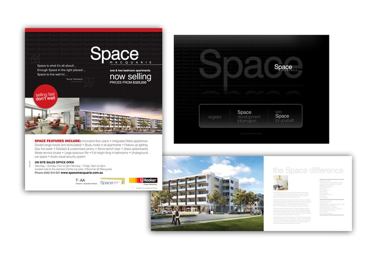 Space Macquarie Apartments Marketing Material
