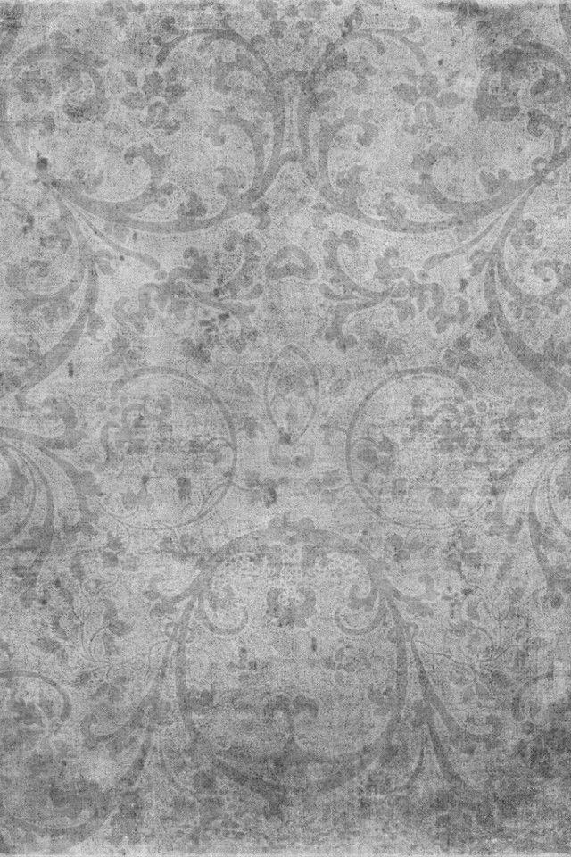 Gray Abstract Swirls #iPhone 4s #Wallpaper