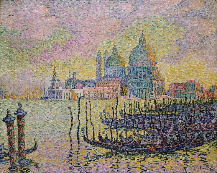 Поль Синьяк «Большой канал, Венеция» (Гранд-канал)