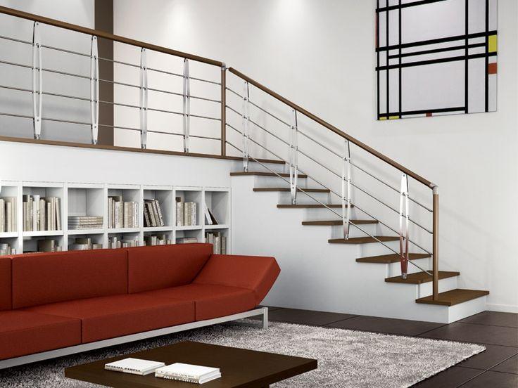 M s de 1000 ideas sobre barandas para escaleras en - Escaleras y barandillas ...