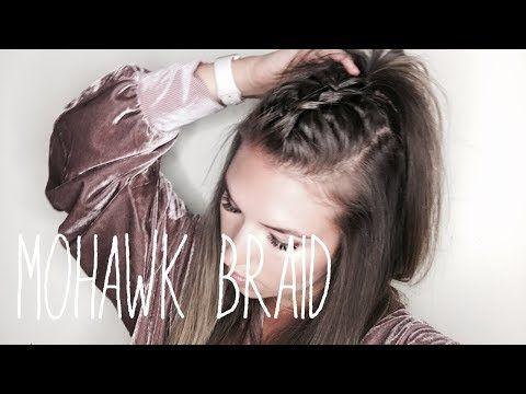 How To: Mohawk Braid Hair Tutorial (EASY!!) – YouTube