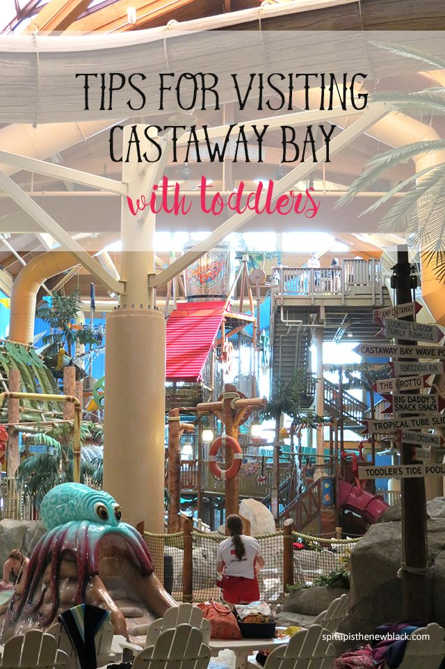 Tips for Visiting Castaway Bay with Toddlers - read this before you travel to the indoor beach resort in Sandusky, Ohio