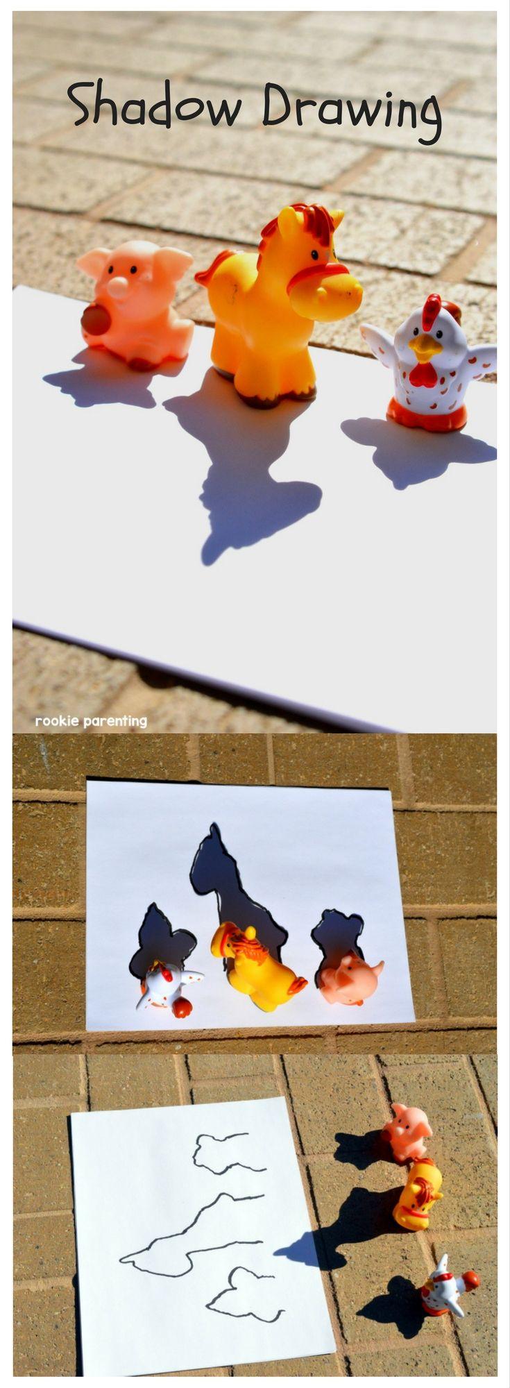 Shadow Science - Light #STEM #AcitivityForKids