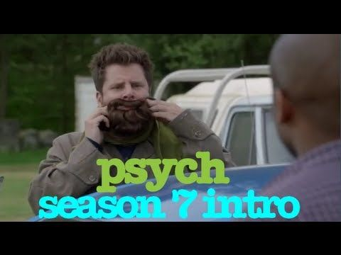 Psych title sequence