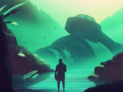 What is that thing? Color + animation by Mikael Gustafsson