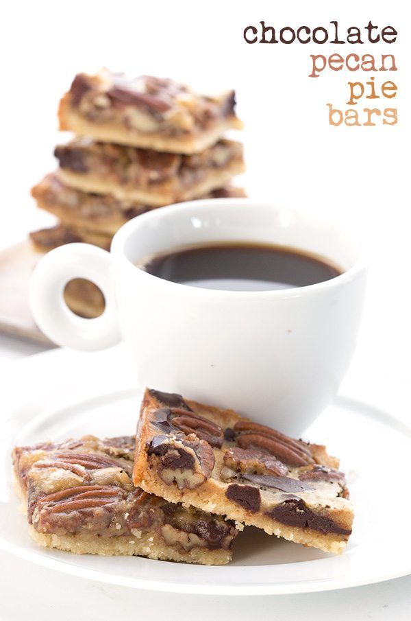 Low Carb Chocolate Pecan Pie Bars