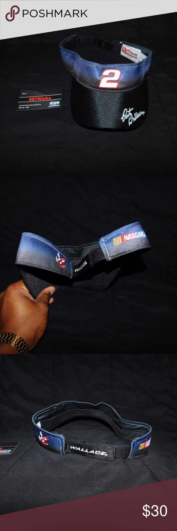 Rusty Wallace Nascar Visor USED Rusty Wallace #2 Nascar Racing Visor hat Adjustable Chase Authentics | Adjustable Size | hook and loop fastener | great condition, no flaws  For Discounts Follow Me on Instagram @407vintage !  KEYWORDS/TAGS: ultra boost , Tommy Hilfiger , Polo Sport , Nautica , NMD , supreme , kith , bred , adidas , banned , french blue , stussy , Maestro , vintage , kaws , solefly , trophy room , box logo , gamma blue , retro jordan , steal , foams , foamposite , rare , nike…