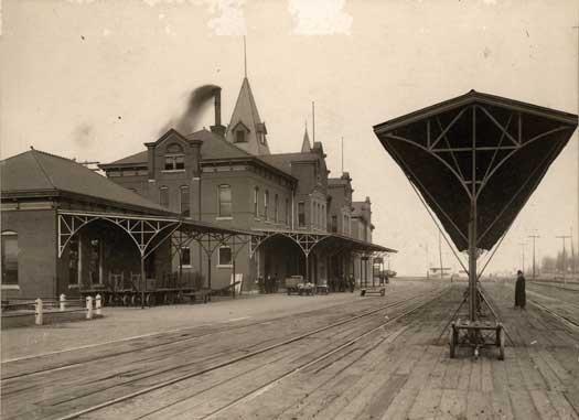 Moberly Missouri Old Train Station