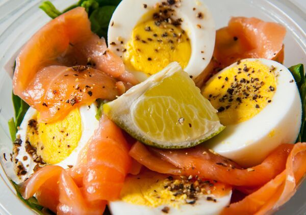 Have your breakfast at Treats and Foods! Our Egg, Salmon & Spinach Pot is so incredibly delish! http://bit.ly/1JdlBOa