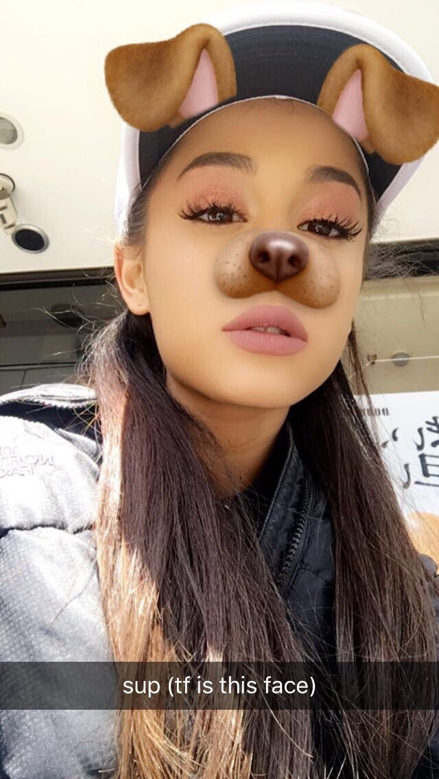 89 best images about Ariana grande snapchat on Pinterest ...