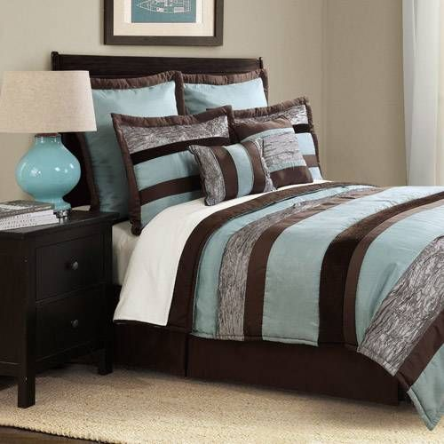 Bed Ink Aqua Chocolate Bedding By Bed Ink Bedding
