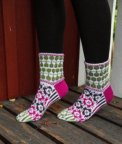 Blomma sokk