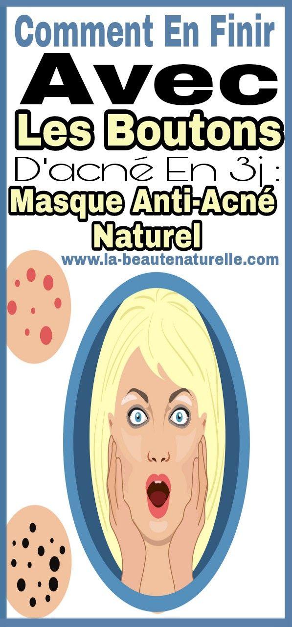 Remark en finir avec les boutons d'acné en 3j : Masque anti-acné naturel